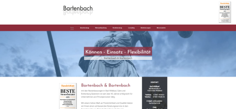 Bartenbach & Bartenbach – Ihr Steuerberater in Bad Wildbad in Bad Wildbad im Schwarzwald