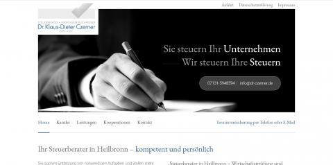 Existenzgründung mit Ihrem zuverlässigen Partner – Steuerberater Dr. Czerner  in Heilbronn