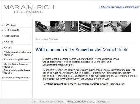Steuerkanzlei Maria Ulrich in München in München