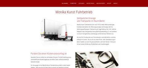 Ihr Partner für einen reibungslosen Umzug in Berlin: Monika Kunst UMZÜGE & TRANSPORTE in Berlin