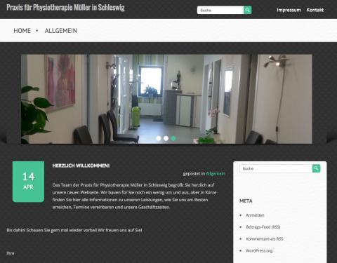 Praxis für Physiotherapie Müller in Schleswig in Schleswig