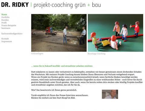 Business-, Projektcoach und Sachverständiger für Grün und Bau in München in München