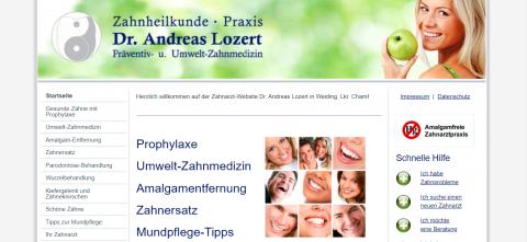 Gesunde, schöne und weiße Zähne: Zahnarztpraxis Dr. Lozert in Weiding in Weiding
