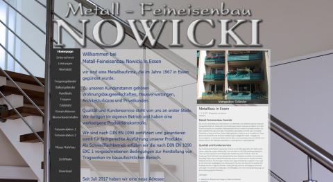 Erfahrener Schweißerfachbetrieb aus Essen: Metall-Feineisenbau Nowicki  in Essen