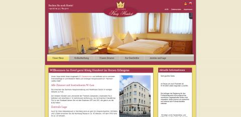 Hotel Garni König Humbert in Erlangen: Residieren wie ein Fürst in Erlangen