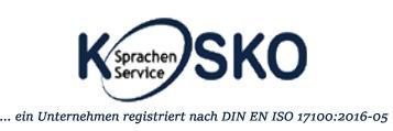 KOSKO Sprachenservice: Ihr Wirtschaftsübersetzer für alle Fälle in Halle (Saale)