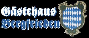 Preiswerte Übernachtung an der Zugspitze: Gästehaus Bergfrieden  in Bad Bayersoien