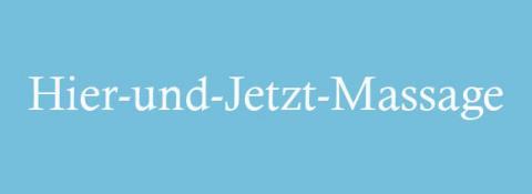 Hier-und-Jetzt-Massage – Ihre mobile Nackenmassage in Hamburg in Hamburg