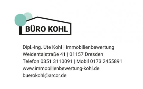 Immobilienbewertung Dipl. Ing. Ute Kohl: Ihre Adresse für die qualifizierten Bewertungen von bebauten und unbebauten Grundstücke in Dresden in Dresden