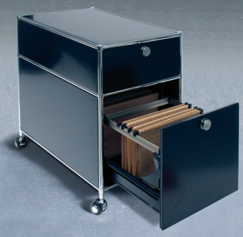 Die Rollcontainer fürs Büro gibt es in verschiedenen Größen