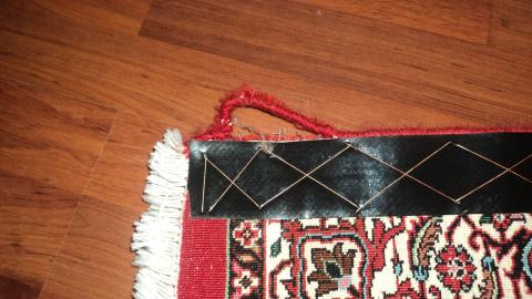 Ihr geeberter Teppich wird professionell restauriert