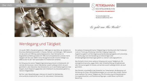 Firmenprofil von: Rechtsanwältin Christa Petersmann in Rostock