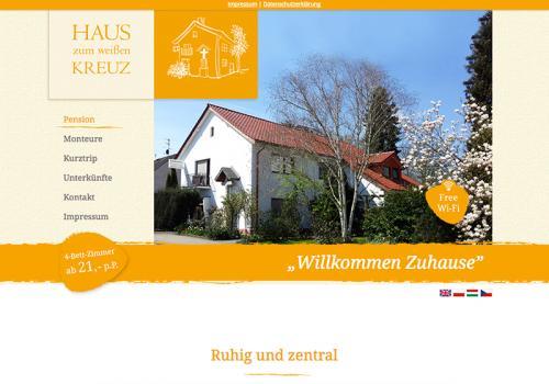 Firmenprofil von: Relaxed hotel and vacation apartment near Cologne: Haus zum weißen Kreuz