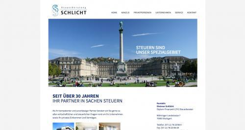 Firmenprofil von: Steuerberatung Schlicht ETL GmbH in Stuttgart: Sparen Sie bares Geld mit der Steuererklärung