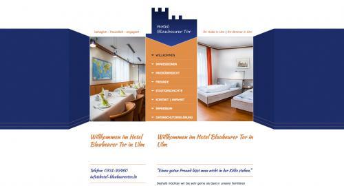 Firmenprofil von: Hotel Blaubeurer Tor in Ulm