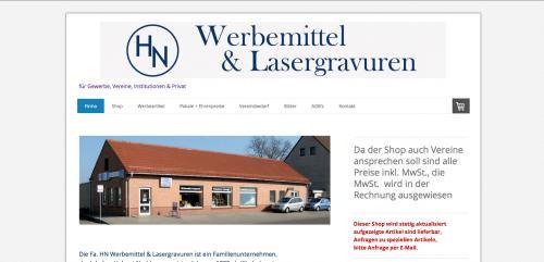 Firmenprofil von: HN Werbemittel & Lasergravuren - Werbeagentur in Gräfenhainichen