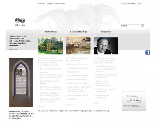 Firmenprofil von: Alt + neu Architekten in Braunschweig