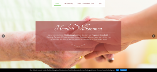Firmenprofil von: Alten- und Pflegeheim Kinne GmbH: Individuelle Pflege