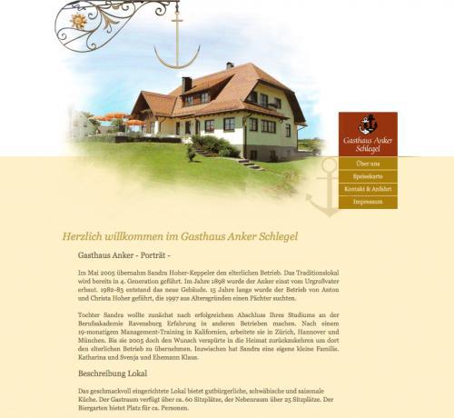Firmenprofil von: Gasthaus Anker in Ravensburg
