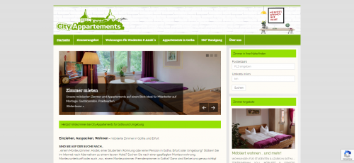 Firmenprofil von: WG-Zimmer in Gotha: City Appartements