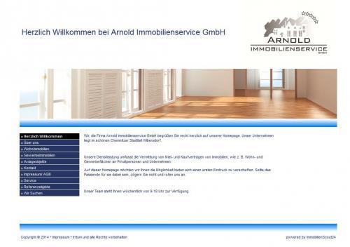 Firmenprofil von: Arnold Immobilienservice GmbH