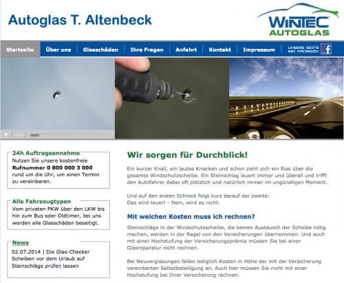 Firmenprofil von: Autoglas T. Altenbeck in Bottrop