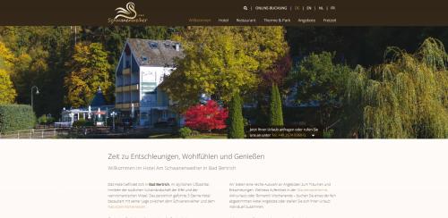 Firmenprofil von: Ihr Hotel am Schwanenweiher in Bad Bertrich: Erholung pur