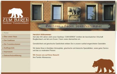 """Firmenprofil von: Gasthaus """"Zum Bären"""" in Fürth - Burgfarrnbach"""