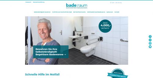 Firmenprofil von: Trotz Einschränkung gemütlich baden: bade:raum macht's möglich