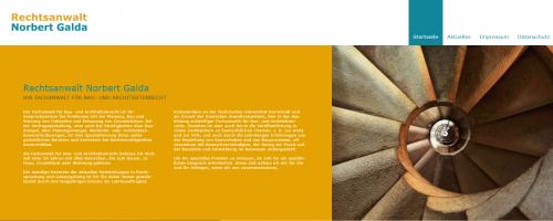Firmenprofil von: Rechtsanwalt für Architektenrecht – Norbert Galda in Mainz