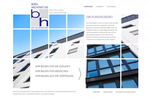 Firmenprofil von: Architekt und Bausachverständiger Bernd Heep: Ihr Ansprechpartner für Energieberatung in Köln