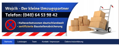 Firmenprofil von: Baustellenabsicherung Hamburg: Bequem und einfach Halteverbotszonen einrichten