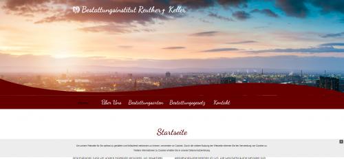 Firmenprofil von: Luftbestattung in Ludwigshafen: Bestattungsinstitut Reuther und Keller