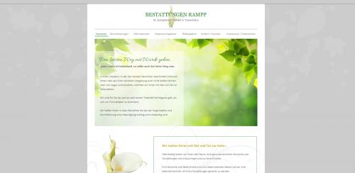 Firmenprofil von: Ihr zuverlässiger Partner für die Erdbestattung: Bestattungen Rampp