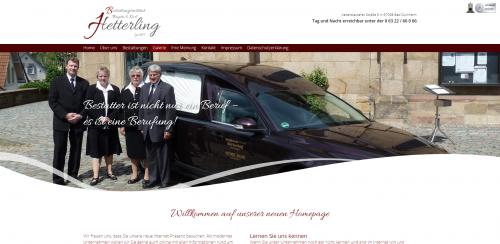 Firmenprofil von: Bestattungsinstitut Hetterling in Bad Dürkheim: Ihr starker Halt im Trauerfall