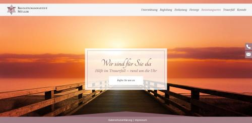 Firmenprofil von: Ihr Ansprechpartner für Bestattungen: Bestattungsinstitut Müller