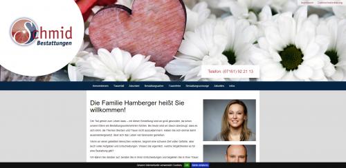 Firmenprofil von: Würdevolle Bestatter aus Göppingen: Bestattungsinstitut B. Schmid GmbH