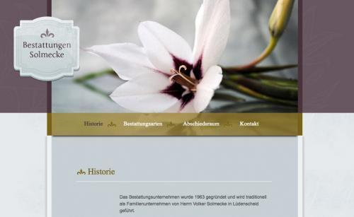Firmenprofil von: Bestattungsinstitut: Bestattungen Solmecke e.K. In Lüdenscheid