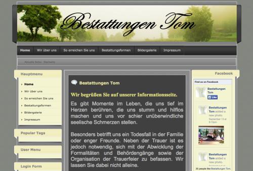 Firmenprofil von: Bestattungsinstitut: Bestattungen Tom in Weingarten