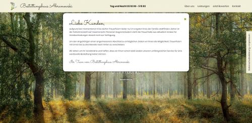 Firmenprofil von: Ihr Partner für die Bestattungsvorsorge: Bestattungshaus Abramowski in Gommern