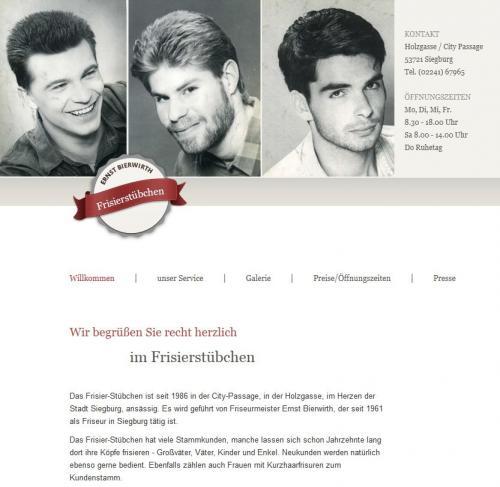 Firmenprofil von: Frisier-Stübchen Bierwirth in Siegburg