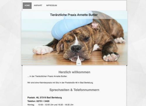 Firmenprofil von: Tierärztliche Praxis in Bad Berleburg - Annette Buttler