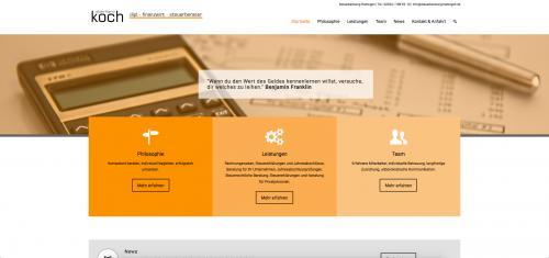 Firmenprofil von: Steuerberater Eberhard Koch kümmert sich um Ihre Steuern
