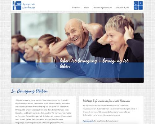 Firmenprofil von: Physiotherapie Andrei Steinhäuser in Oranienburg