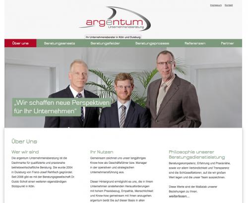 Firmenprofil von: argentum Unternehmensberatung Rehfisch & Partner in Duisburg