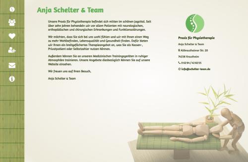 Firmenprofil von: Praxis für Physiotherapie Anja Schelter & Team - für Sie da in der Umgebung Dörzbach, Assamstadt und Schöntal