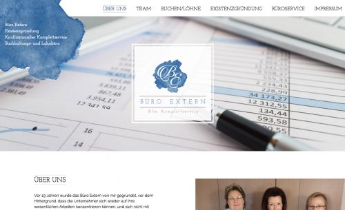 Firmenprofil von: Professionelle Buchhaltung und Buchführung in der Region Paderborn:  Büro Extern
