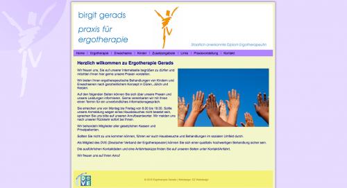 Firmenprofil von: Ergotherapie in Düren: Birgit Gerads Praxis für Ergotherapie