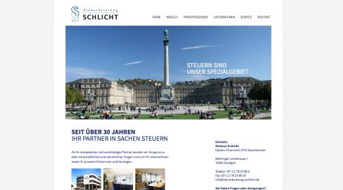 Firmenprofil von: Steuerberatung Schlicht ETL GmbH in Stuttgart