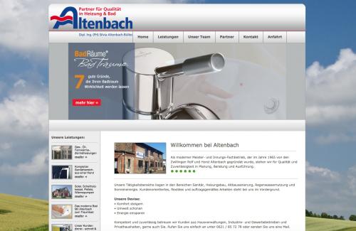 Firmenprofil von: Altenbach Heizung & Bad in Mannheim